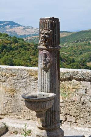 valsinni: Fountain. Valsinni. Basilicata. Italy.
