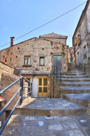 Alleyway. Valsinni. Basilicata. Italy.  Stock Photo - 16505457