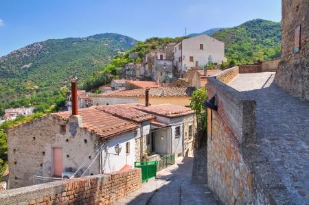 valsinni: Alleyway. Valsinni. Basilicata. Italy.  Stock Photo