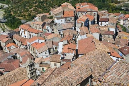 valsinni: Panoramic view of Valsinni. Basilicata. Italy.