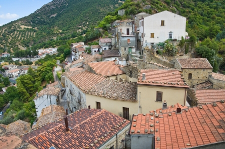Panoramic view of Valsinni. Basilicata. Italy. Stock Photo - 16505454