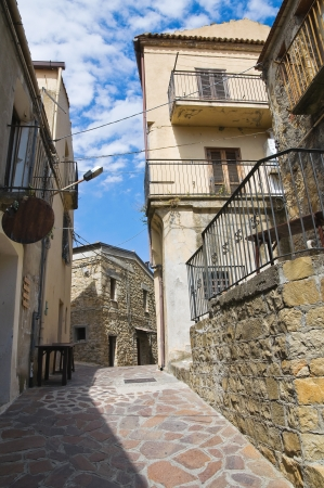 Alleyway. Valsinni. Basilicata. Italy.  photo