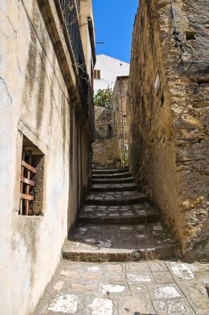 Alleyway. Valsinni. Basilicata. Italy. Stock Photo - 16505580