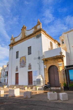 Church of St. Maria della Puritagrave. Gallipoli. Puglia. Italy.  photo