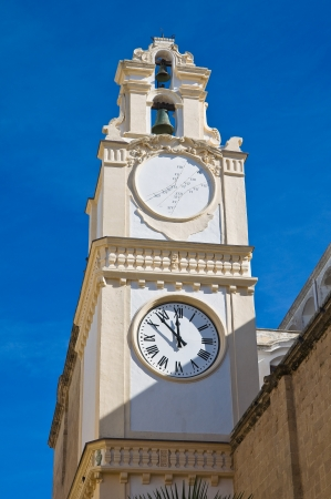Clocktower. Gallipoli. Puglia. Italy. photo
