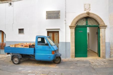 Alleyway Puglia, Italy. photo