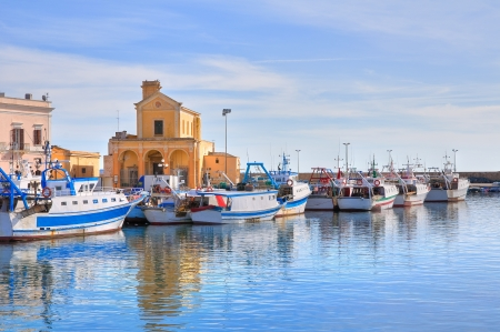 puglia: Panoramic view of Gallipoli. Puglia. Italy.