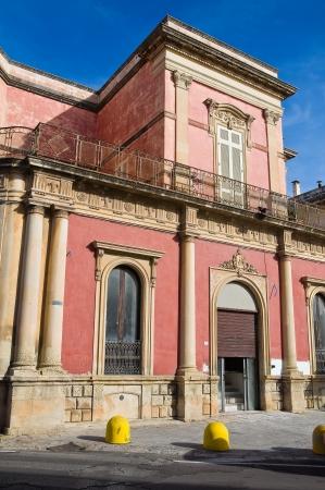 De Paolo Palace. Galatone. Puglia. Italy. Stock Photo - 16628613