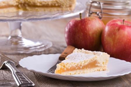 Apple jam tart.  Stock Photo - 16715632