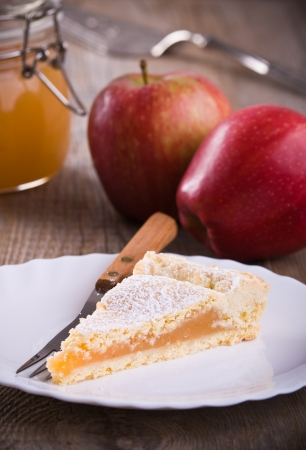 Apple jam tart. Stock Photo - 16715627