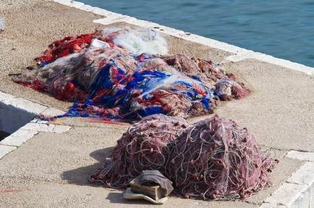 Fishing nets.  photo