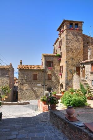 Alleyway. Bolsena. Lazio. Italy. Stock Photo - 16760918