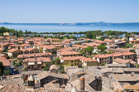 Panoramic view of Bolsena. Lazio. Italy.  Stock Photo - 16760903