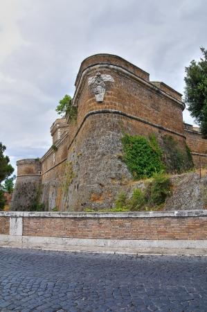 castellana: Forte Sangallo. Civita Castellana. Lazio. Italy.