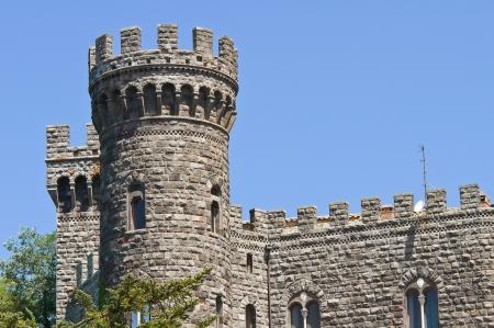 Castle of Torre Alfina. Lazio. Italy.  Stock Photo - 16817918