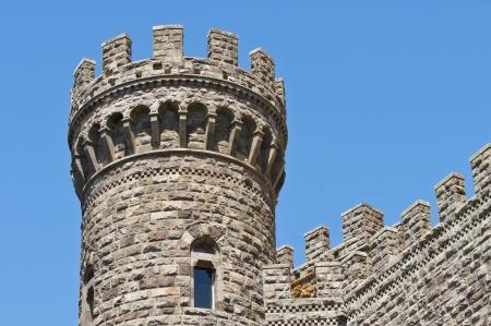 etrurian: Castle of Torre Alfina. Lazio. Italy.  Editorial