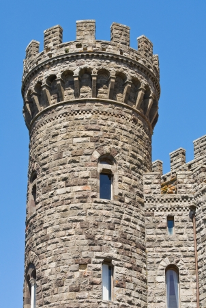 tuscia: Castle of Torre Alfina. Lazio. Italy.  Editorial