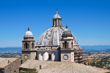 Cathedral of St. Margherita. Montefiascone. Lazio. Italy. Stock Photo - 16823294