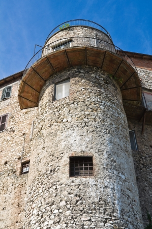 fortified: Fortified walls. Narni. Umbria. Italy.