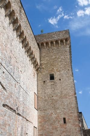 Albornoz fortress. Narni. Umbria. Italy. Stock Photo - 16896028