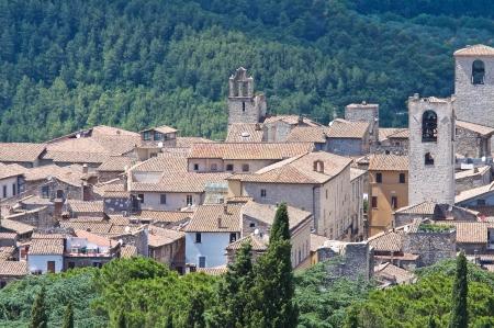 Panoramic view of Narni. Umbria. Italy. Stock Photo - 16896037