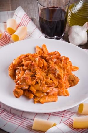 ovenbaked: Oven baked pasta.