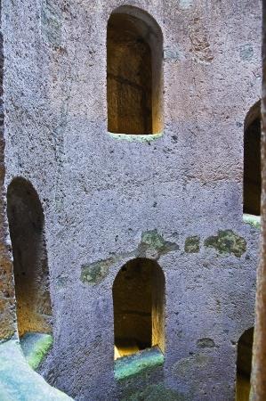 etrurian: St  Patrick well  Orvieto  Umbria  Italy