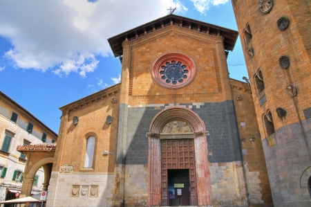 Church of St  Andrea  Orvieto  Umbria  Italy   Stock Photo - 16921391
