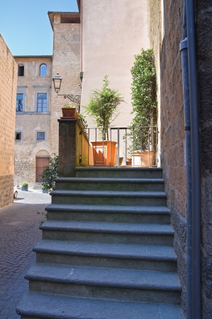Alleyway. Orvieto. Umbria. Italy.  Stock Photo - 16921379