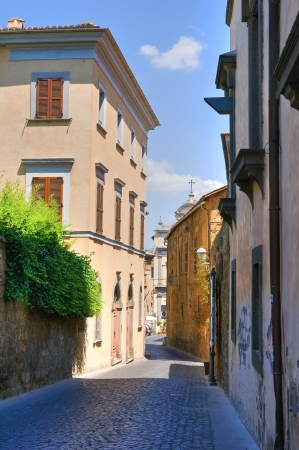 Alleyway. Orvieto. Umbria. Italy.  Stock Photo - 16921186