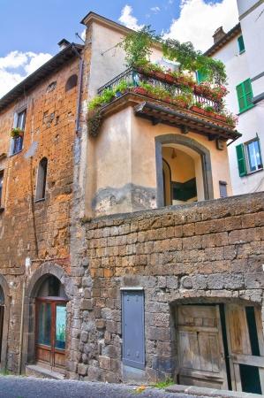 Alleyway. Orvieto. Umbria. Italy.  Stock Photo - 16921356