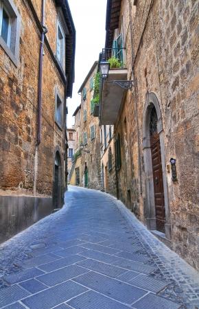 Alleyway. Orvieto. Umbria. Italy. Stock Photo - 16921436