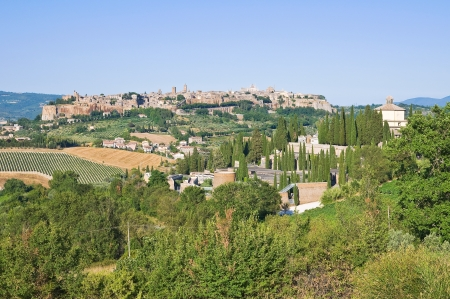 Panoramic view of Orvieto. Umbria. Italy. Stock Photo - 16921342