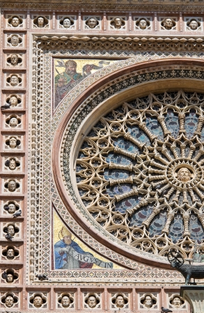 Cathedral of Orvieto. Umbria. Italy.  Stock Photo - 16931108