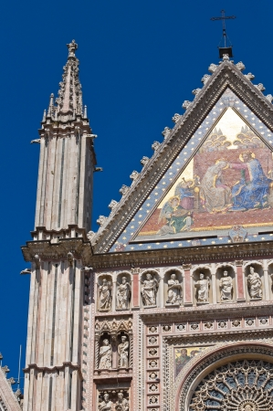 etrurian: Cathedral of Orvieto  Umbria  Italy