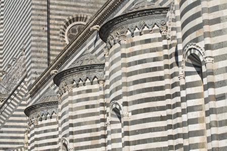 orvieto: Catedral de Orvieto Umbria Italia Foto de archivo