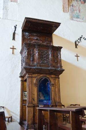 etrurian: Church of St  Francesco  San Gemini  Umbria  Italy