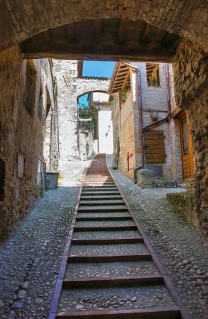 Alleyway  San Gemini  Umbria  Italy   photo
