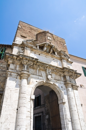 romana: Porta romana. Amelia. Umbria. Italy.