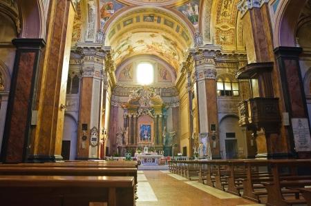 lazio: Cathedral of Ronciglione  Lazio  Italy
