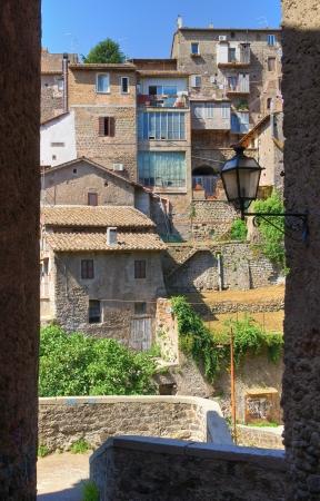 Alleyway  Ronciglione  Lazio  Italy Stock Photo - 16938535