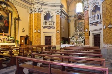 tuscia: Suffragio church. Tarquinia. Lazio. Italy.