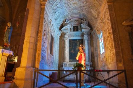etrurian: Church of St. Francesco. Tarquinia. Lazio. Italy.