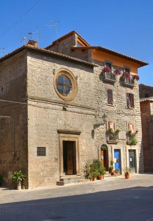 vitorchiano: Church of St. Antonio Abate. Vitorchiano. Lazio. Italy.