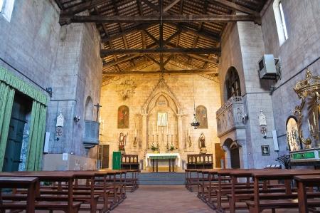 vitorchiano: Church of St. Maria Assunta. Vitorchiano. Lazio. Italy. Editorial
