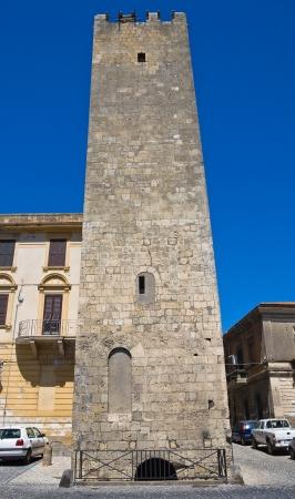 Barucci tower  Tarquinia  Lazio  Italy   photo