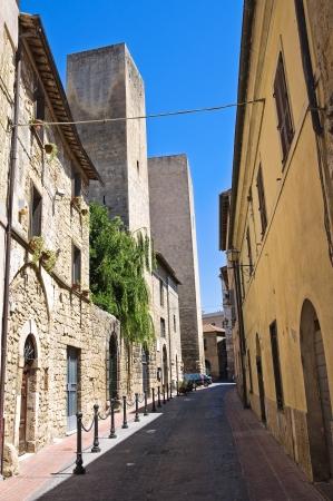 Alleyway  Tarquinia  Lazio  Italy   Stock Photo - 16965349