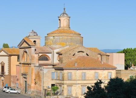Church of SS  Martiri  Tuscania  Lazio  Italy Stock Photo - 16965373