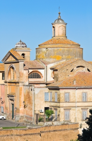 martiri: Church of SS  Martiri  Tuscania  Lazio  Italy
