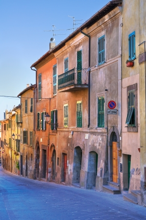 Alleyway  Tuscania  Lazio  Italy   Stock Photo - 16965366